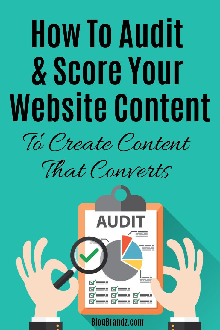 How To Audit And Score Your Website Content To Create Content That Converts