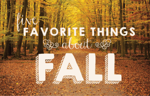 Five-Fall-Favorites