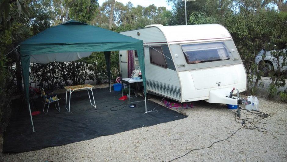 Parcela Camping Caravaning La Manga