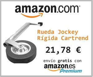 rueda jockey rigida caravana