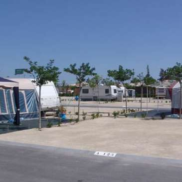 Alquilar una caravana en un camping