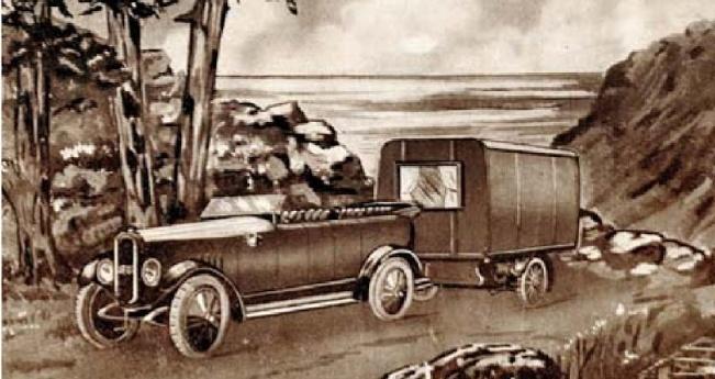 Historia del Camping: Las caravanas.