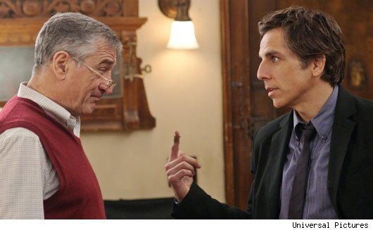"Robert De Niro and Ben Stiller in ""Little Fockers"""