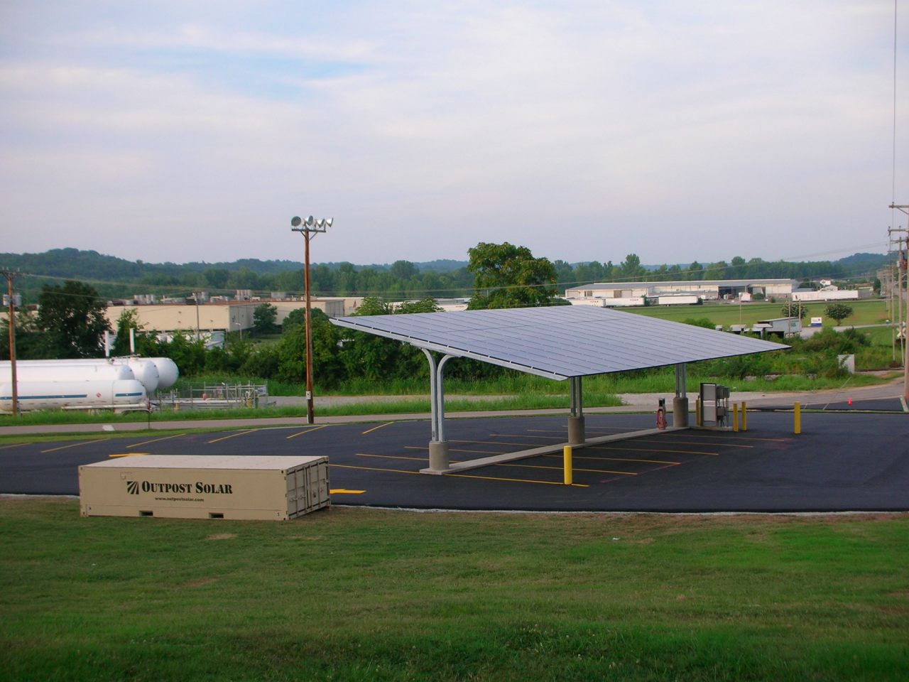 Solar Carport in Pulaski, Tennessee