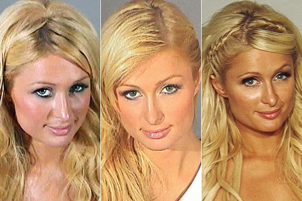 Image result for paris hilton mugshot