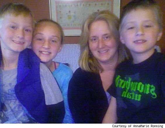 homebuyer AnneMarie Ronning and Family