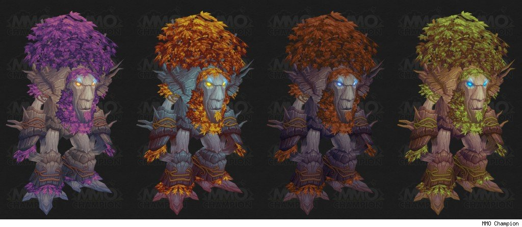 Troll Druid Form Color Chart