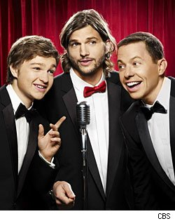 'Two and a Half Men' star Angus T. Jones, Ashton Kutcher & Jon Cryer