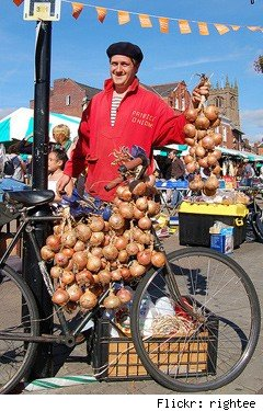 Frenchman beret onions