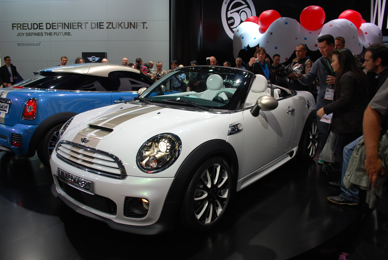 Mini Roadster and Coupe Concepts