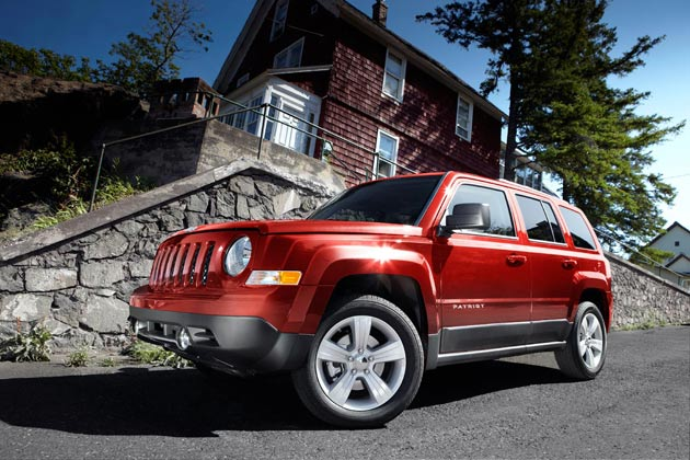 2011 Jeep Patriot red