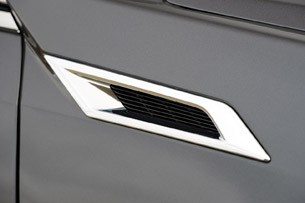 2011 Cadillac CTS-V Coupe side trim