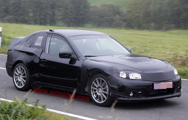 Subaru FT-86 Spy Shots