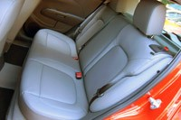 2012 Chevrolet Sonic rear seats