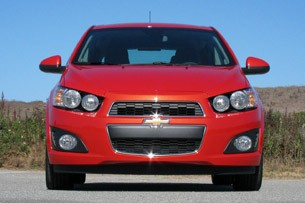 2012 Chevrolet Sonic front view