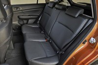 2013 Subaru XV Crosstrek rear seats