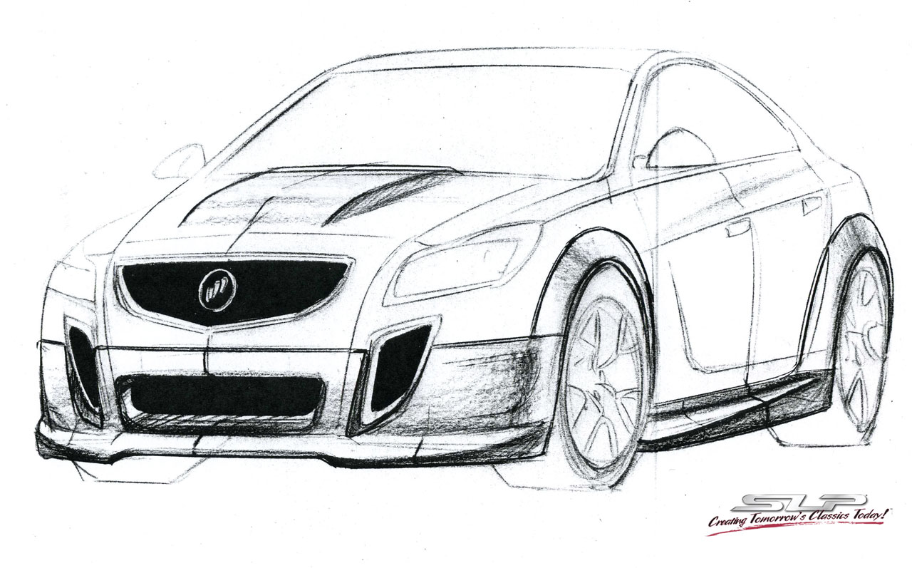 Slp Performance Buick Gnx Sketch Photo Gallery