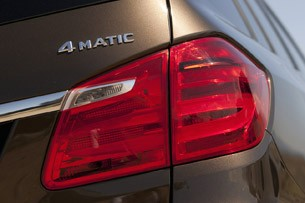 2013 Mercedes-Benz GL450 taillight