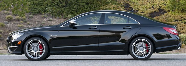 2012 Mercedes-Benz CLS63 AMG side view