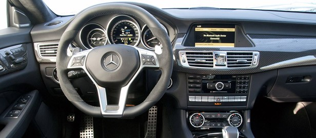 2012 Mercedes-Benz CLS63 AMG interior