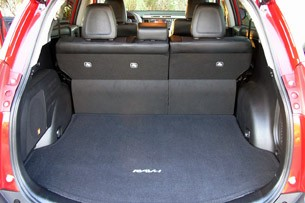 2013 Toyota RAV4 rear cargo area