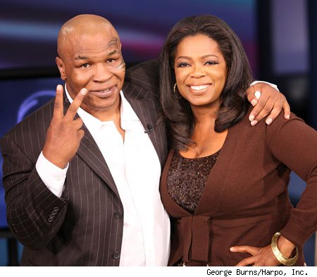 Excerpts of Oprah Winfrey's interview with Mike Tyson on The Oprah Winfrey Show