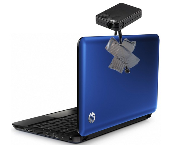 HP launching tablets and notebooks with integrated pico projectors