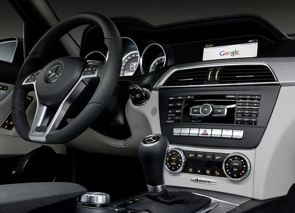 Mercedes Terminal Mode partnership comes to fruition with internet-connected C-Class