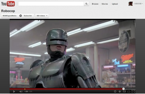 MGM delivers 600 movies to YouTube and Google Play