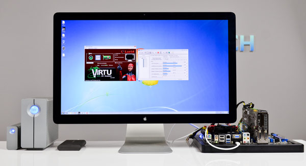 Thunderbolt on Windows gets hands-on, lacks Mac's hot-swapping
