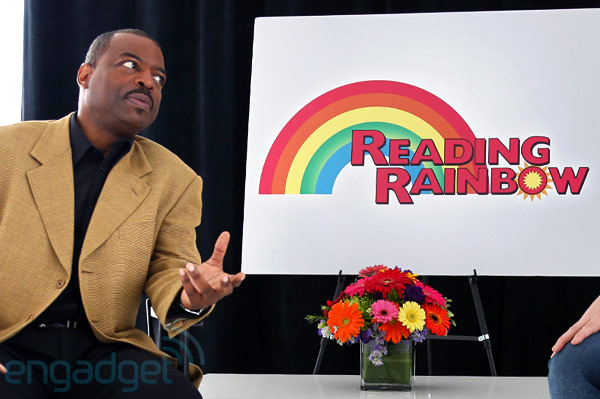 Reading Rainbow launches iPad app