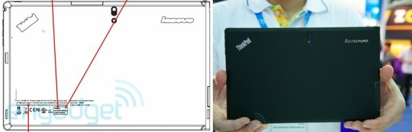 Lenovo ThinkPad tablet with Windows 8 and Intel Inside stops by the FCC
