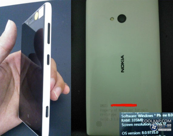 Nokia Lumia 820 (Arrow)