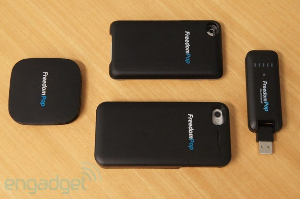 FreedomPop's pay-as-you-go data service launches in beta, offering 500MB of free WiMAX per month