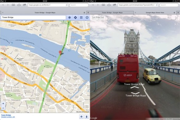 Street View comes to Google Maps web app on iOS  just like they said     Street View comes to Google Maps web app on iOS  just like they said it  would