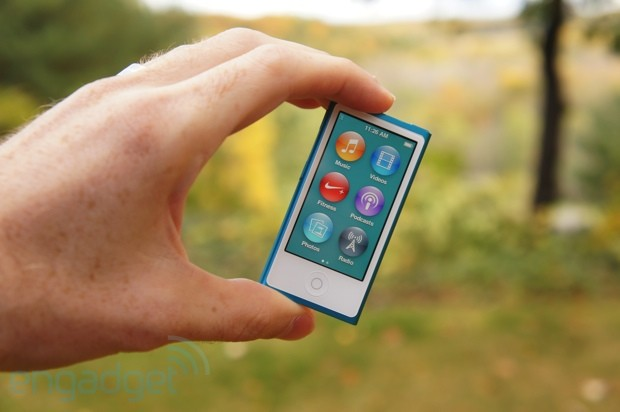 iPod nano review 2012