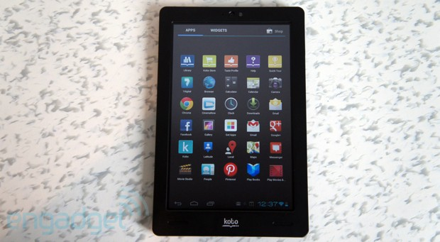 DNP Kobo Arc another 7inch Android tablet steps into the ring