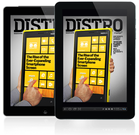 Distro Issue 79 examines the rise of the everexpanding smartphone screen