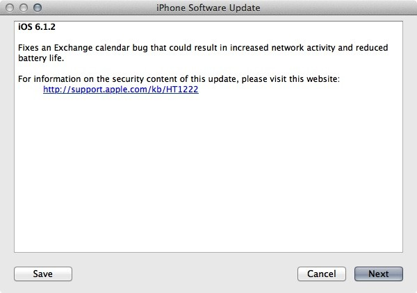 Apple pushes iOS 612 with Exchange bug fix