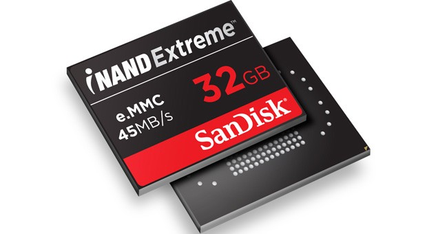 Tegra 4 reference tablets use SanDisk's iNAND Extreme, match fast chips with fast storage