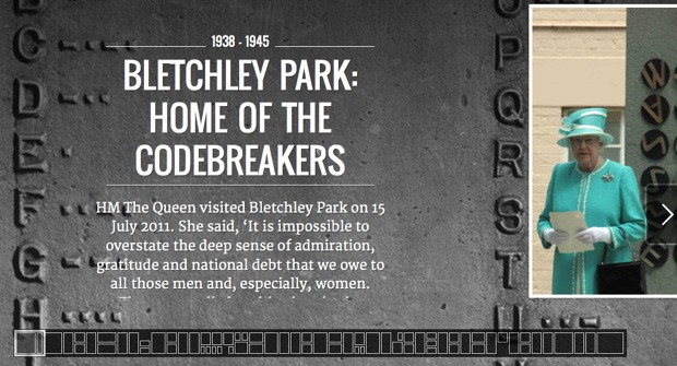 Bletchley Park, home of the codebreakers, comes to Googles Cultural Institute video