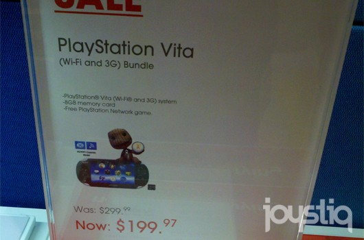 PS Vita 3G price drops to $199 at certain Sony outlets