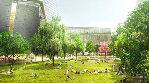 DNP Cornell Tech's plan for an applied sciences campus on Roosevelt Island has been approved