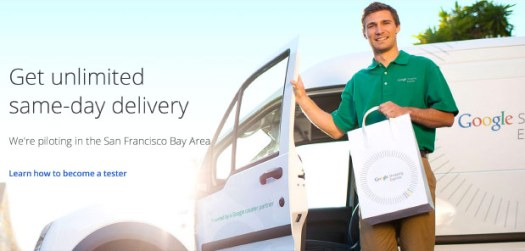 Google launches Shopping Express pilot, offers free sameday deliveries in San Francisco