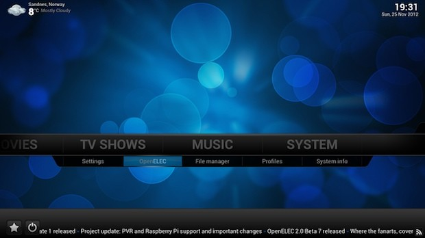 OpenELEC 30 media center software gets official, supports 'more hardware than ever'