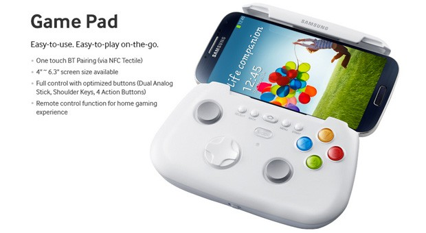 Samsung Galaxy S 4 Game Pad to support up to 6.3-inch devices, raises eyebrows