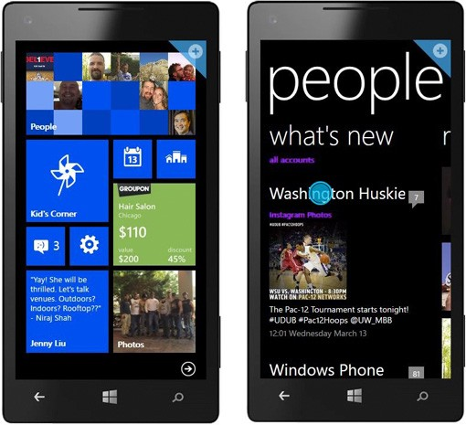 Microsoft updates its Windows Phone web demo for WP8
