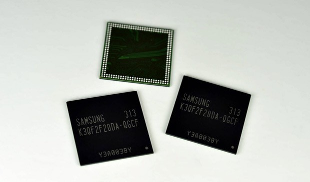 Samsung starts production of 20nm 4Gb LPDDR3 RAM, promises speed and performance boosts