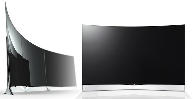 LG will launch the world's first 55inch curved OLED HDTV