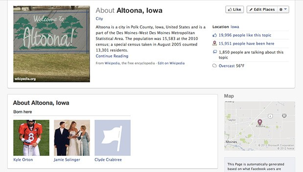 DNP  Facebook building $15 billion data center in Altoona, Iowa